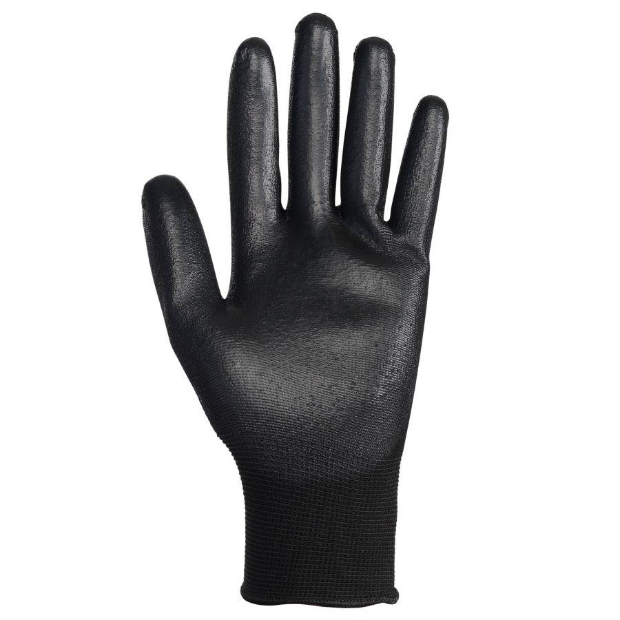 Gant de nylon enduit de polyuréthane noir G40 grandeur 8
