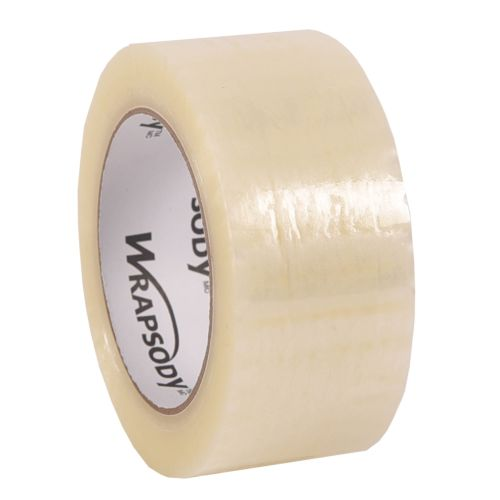 WRAPSODY clear polypropylene tape 48 mm x 132 m